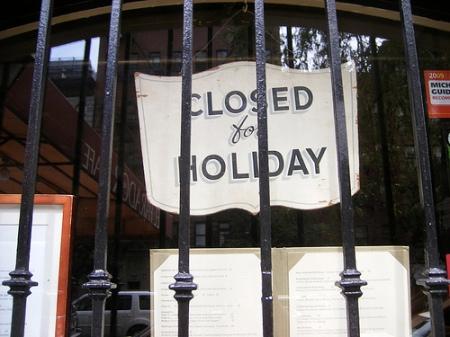 HolidayClosed