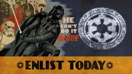 vader can't do it alone