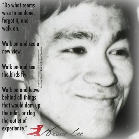 Bruce Lee Walk On